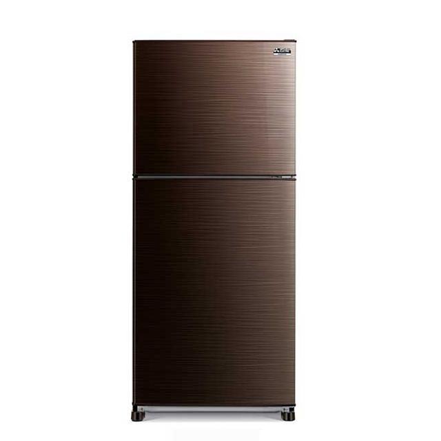 Mitsubishi Refrigerator MR-FX38EP (Brown, Black, Silver)