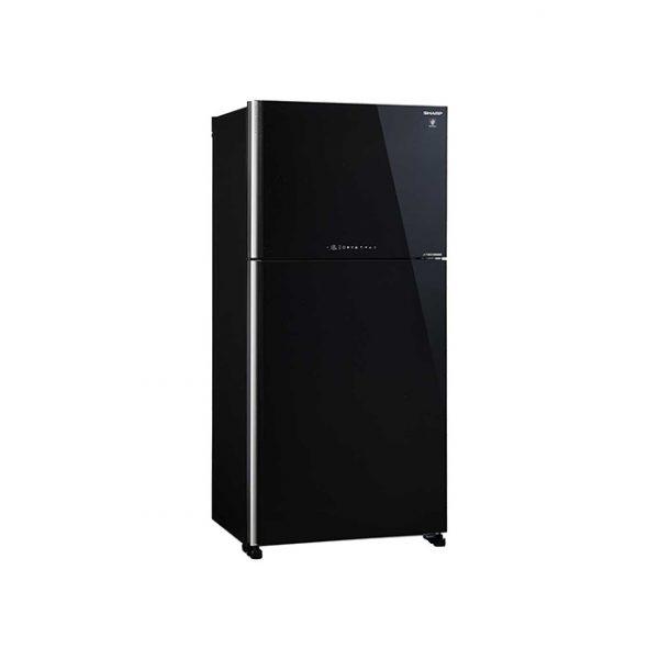 Sharp Refrigerator SJ-GM650-BK Top Mount Mega Freezer